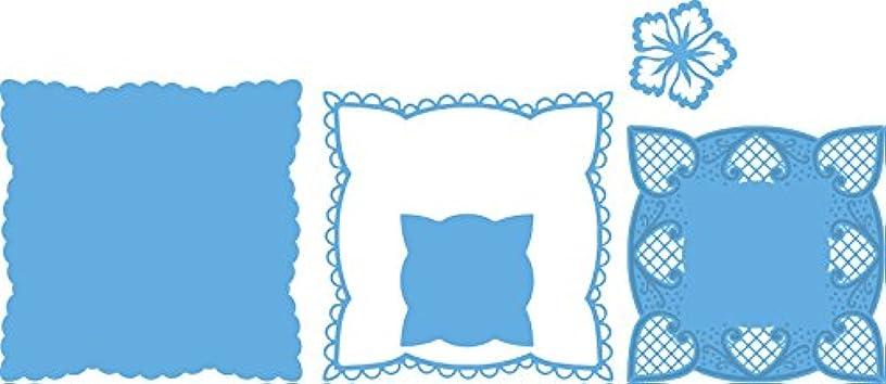 Ecstasy Crafts Marianne Design Creatables Dies, 4.75-Inch, Anja's Squares