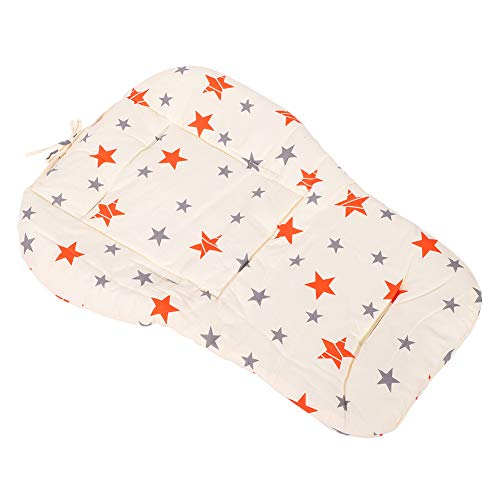 Fendysey Pushchair Seat Pad, Stroller Cushion, with 2 Strips Car Safety Seats for Safety Seats Chairs Baby Strollers