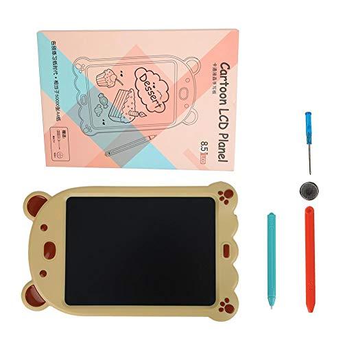 Tableta de escritura para niños, tableta de escritura, superficie pulida para ahorrar tiempo para niños(Cartoon LCD writing board)