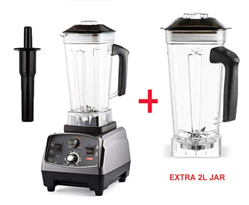 New 2200W Heavy Duty Commercial Grade Timer Blender Mixer Juicer Fruit Food Processor Ice Smoothies ...