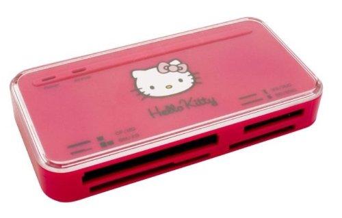 Saitek Hello Kitty 53-in-1 Kartenleser pink