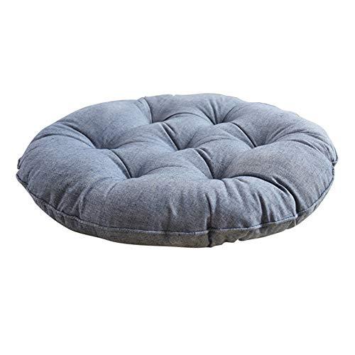 JYAcloth Round Tufted Chair Cushion,Japanese Futon Seat Cushion Thicken Soft Tatami Floor Pillow Reading Cushion Chair Pad For Yoga Meditation Balcony