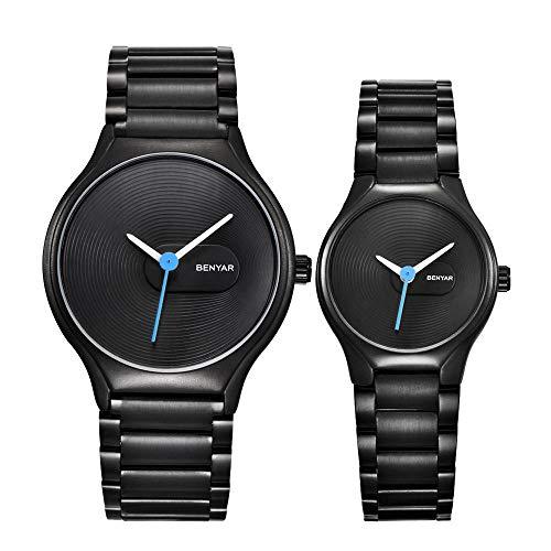 Relojes de los Hombres Amantes de los Relojes Reloj Relojes de Cuarzo...