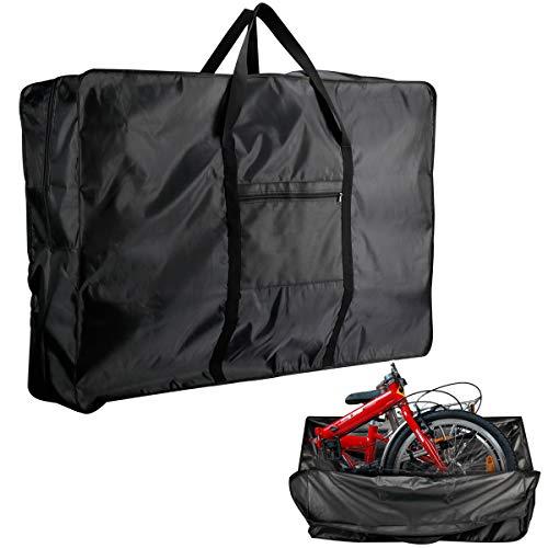 RELMON 26 inch Folding Bike Transport Bag Waterproof Bicycle Travel Bag for Train Air Travel