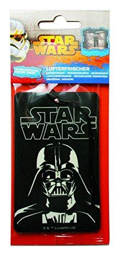 Kaufmann STLUF712 Star Wars' Papierlufterfrischer, Dark Side/Vanille