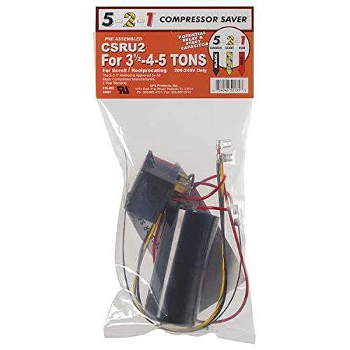 5-2-1 Compressor Saver 5-2-1 Compressor Saver Csr-u2