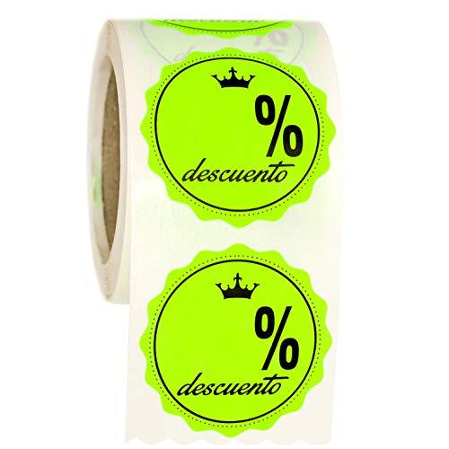 ETINOVA RPO005 - Etiquetas adhesivas, pegatinas, stickers, Rebajas, ofertas, descuentos, Black Friday -