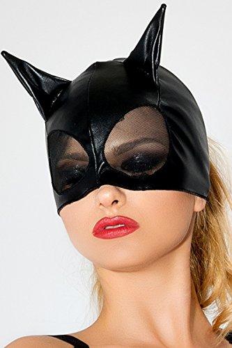 Me Seduce MK01One Size Schwarz Sexy Katze Maske