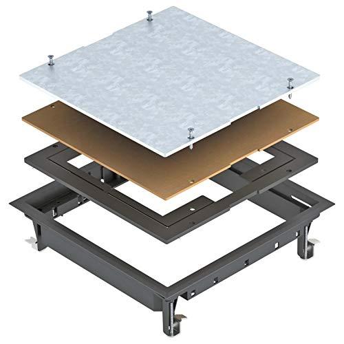 obo-bettermann Automatischer canaliz. Boden–Deckel Box regto. ZES9–2u10t9011Montage Universal Polyamid