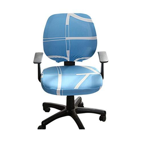 WUYANSE - Funda para silla de oficina o ordenador, tela elástica, para ordenador o silla de oficina, universal, giratoria (sólo cubierta), Roman Space