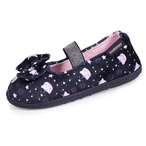 Isotoner Chaussons Ballerines Fille 3D