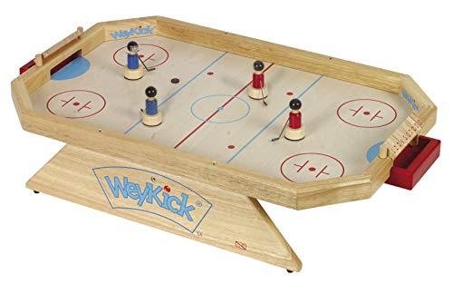 WeyKick on Ice Stadion 8500 / Magnet-Eishockeyspiel für 2-4 SpielerInnen / Material: Holz / Spielfläche: ca. 46 x 71 cm