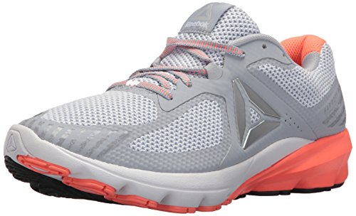 Reebok Women's OSR Harmony Road Sneaker, Cloud Grey/Guava Punch/sl, 9 M US