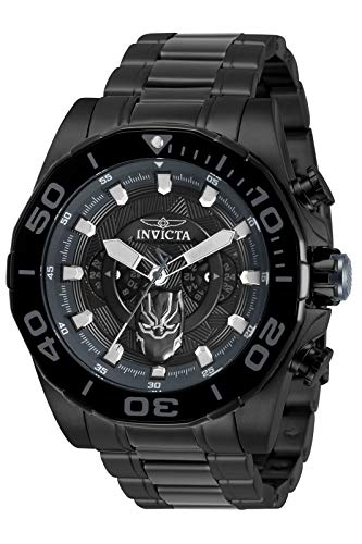 Invicta Marvel - Black Panther 33149 nero Orologio Uomo Quarzo - 48mm