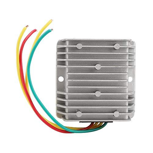 Regulador de voltaje, regulador de corriente CC a prueba de golpes, a prueba de polvo, impermeable, 8~40 V a 12 V, gobernador para coche