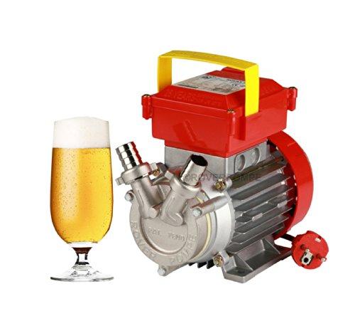 POMPA ELETTRICA TRAVASO liquidi caldi e birra max 95°C ROVER POMPE 'NOVAX B 20'