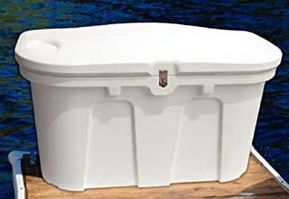 TAYLOR MADE PRODUCTS Taylor N A 123650 Stow N' Go Poly Dock Box White
