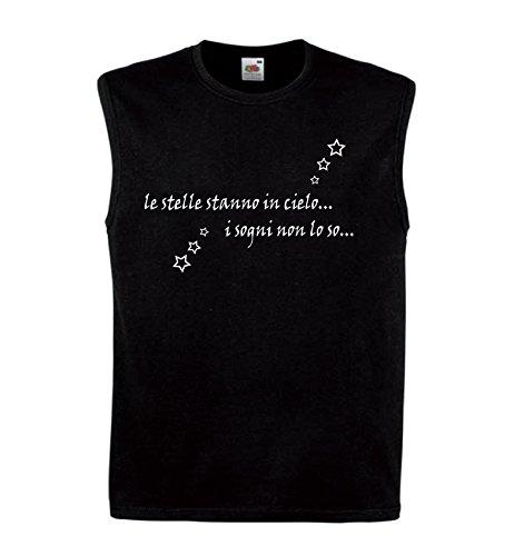 Art T-shirt zonder mouwen vaas ster heren
