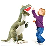 "Prextex 24"" Giant Plush Dinosaur T-Rex Jumbo Cuddly Soft Dinosaur Toys for Kids"