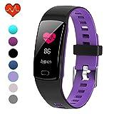 PUBU Fitness Tracker, IP67 Waterproof Fit Watch with Heart Rate Monitor,Sleep Monitor, Pedometer...