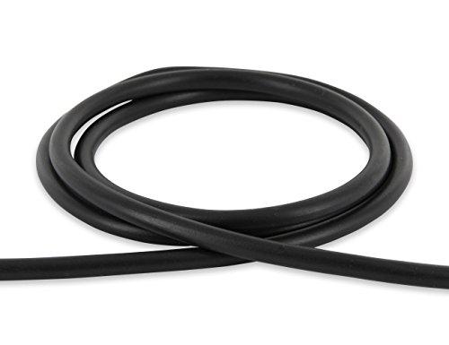AURORIS - 5m Kautschukband rund - Ø 5mm - schwarz