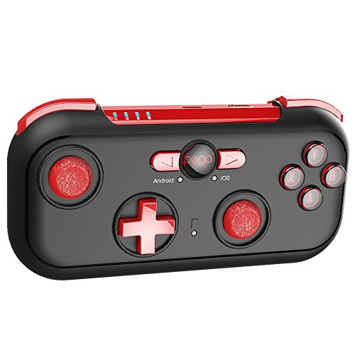 ipega 9085 Mini Wireless Game Controller for Android/OS Phone,Windows PC and Nintendo Switch with Carry case and Universal Stand