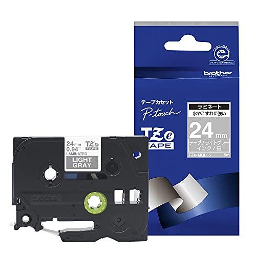 ブラザー TZeテープ おしゃれテープ ラミネートつや消し TZe-MQL55