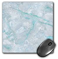 3dRose Mouse Pad Image of Trendy Luxury Aqua Teal Quartz and Gray Gemstone Agate Geode - 8 by 8-Inches (mp_275124_1) [並行輸入品]