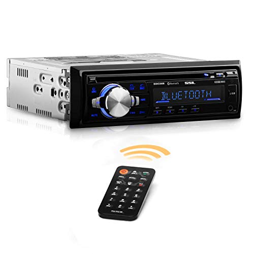 Sound Storm SDC26B Car Stereo Single DIN CD Player