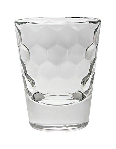 Vidivi Vetri delle Venezie Honey Set 6 Bicchieri da liquore 8 cl, 5.7 cm
