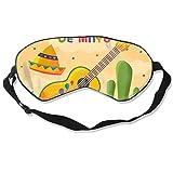 Eye Masks, Adjustable Strap Sleep Cover Mask Breathable Blindfold Cinco-De-Mayo-with-Decoration_23-2148470312