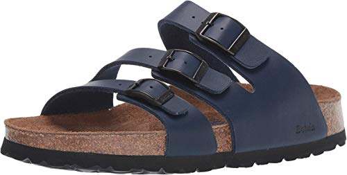 Birkenstock Betula Licensed Leo Soft Navy Birko-Flor 38 (US Women's 7-7.5) Narrow