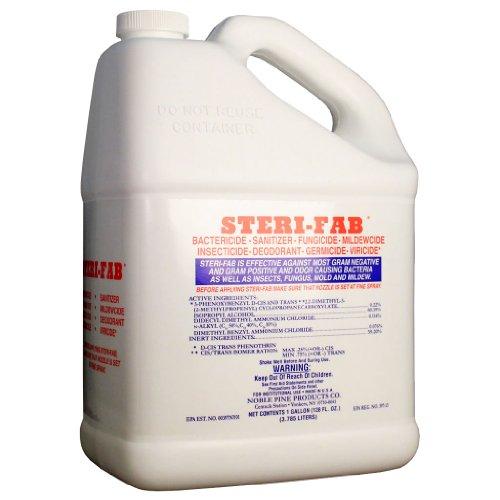 1 Gallon Steri-fab Bed Bug Control Plus Bactericide Sanitizer Fungicide Mildewcide Etc.