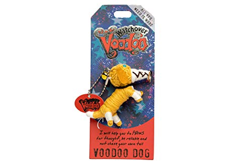 History & Heraldry Watchover Voodoo Dolls - Voodoo Dog Multi Colored, 5 inches