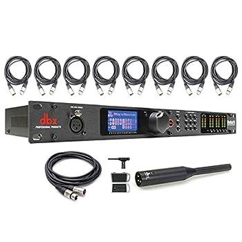 dbx DriveRack PA2 PA Management System w/ RTA-M Measurement Microphone Cables Bundle