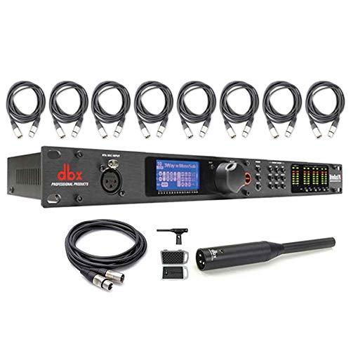 dbx DriveRack PA2 PA Management System w/ RTA-M Measurement Microphone, Cables Bundle