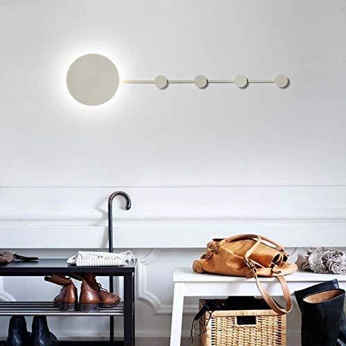 Decoracion Nordic wandlamp, minimalistisch, modern, minimalistisch, slaapkamer, woonkamer, creatief, van ijzer, om op te hangen aan de muur van de handschoen, verlicht 101 x 25 cm