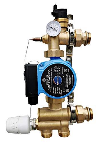 Festwertregelset/Temperaturregeleinheit für Fußbodenheizung mit Pumpe OMI
