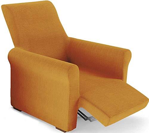 PETTI Artigiani Italiani Sesselüberwurf, Gold, Sessel von 80 bis 100 cm