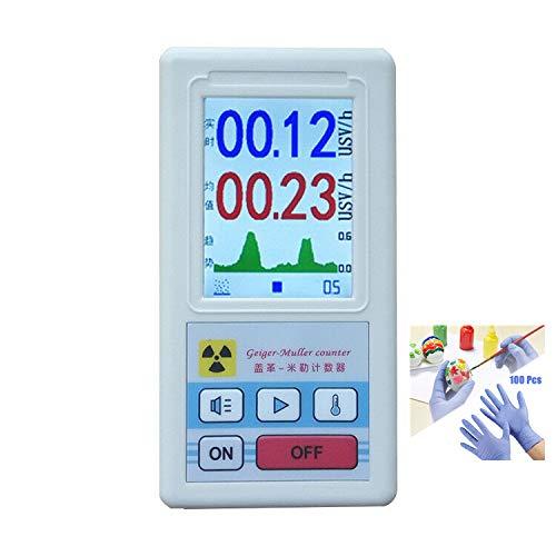Detector de radiación nuclear, probador de rayos X Beta Gamma, contador Geiger tipo BR-6, medidor de detector de mármol de dosimetro, monitor de uranio de rayos de videojuegos