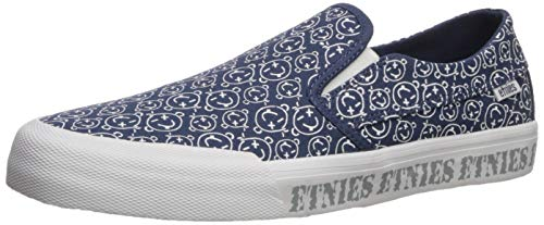 Etnies Langston, Unisex-Erwachsene Skateboardschuhe, Blau (472-Navy/White 472), 41 EU (7 UK)