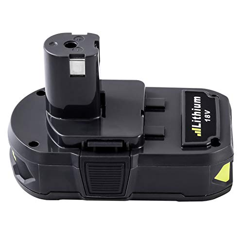 [Upgrade] Fhybat 3.0Ah 18V Replacement Battery for Ryobi 18V Lithium Battery for P102 P103 P104 P105 P107 P108 P109 P122 Ryobi 18-Volt ONE+ Cordless Tool