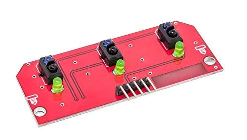 MissBirdler Barrera de luz de 3 vías de Infrarrojos, Arduino Raspberry Pi