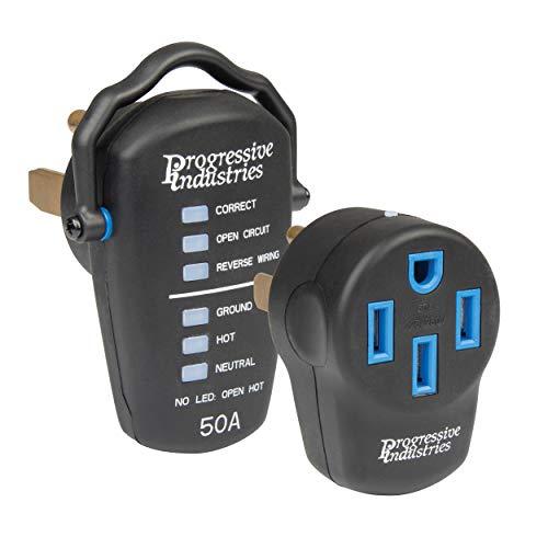 Progressive Industries 50 Amp Portable Surge Protector Kit, PSK-50