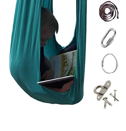 FuncDEme Indoor Sensory Therapy Elastic Swing, Kuschelhammock auf Kind mit besonderen Bedürfnissen, für...
