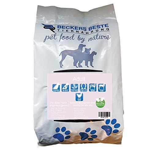Adult Plus   Beckers Beste Tiernahrung   getreidefreies Hundefutter   Trockenfutter für alle Hunderassen   hohem Fleischanteil in der Trockensubstanz   artgerecht & besonders gut verträglich   Holistic   gesunde Tiernahrung   aus liebe zu Deinem Tier