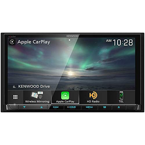 Kenwood Excelon DDX8906S 6.95 Wireless Apple CarPlay and Wireless Android Auto DVD Receiver