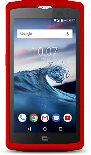 Crosscall Core-X3 Smartphone (5 Zoll - 16 GB internal Speicher - Dual Nano-SIM - Android) Rot