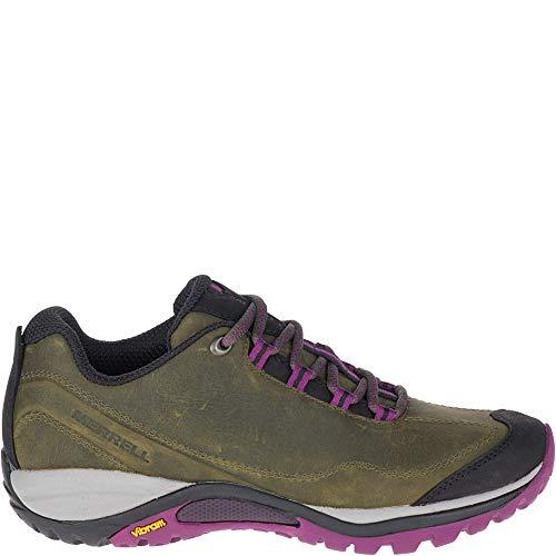 Merrell womens Siren Traveller 3 Hiking Shoe, Olive/Purple, 11 US