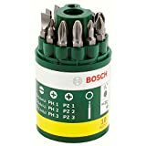 Bosch 10-Piece Screwdriver Bit Set, Comes with Universal Magnetic Holder
